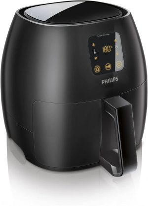zwarte digitale Philips airfryer