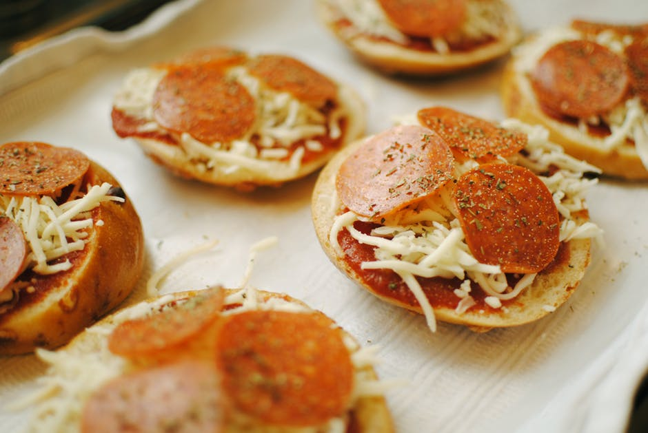 Pizzabroodjes uit de airfryer